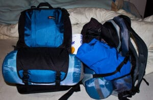 sleeping bag backpack