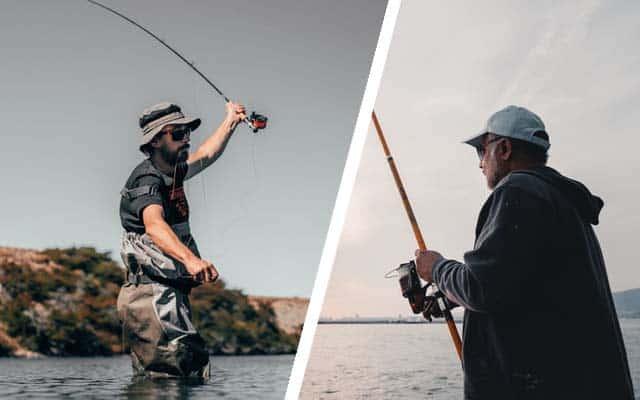 fly fishing vs regular fishing