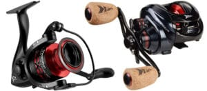 baitcasting and spinning reel